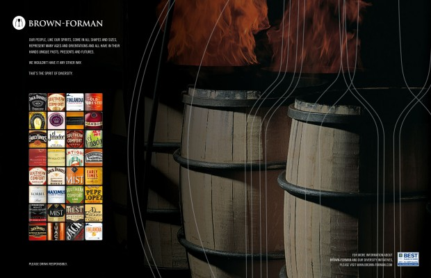 Brown-Forman Diversity Print Ad