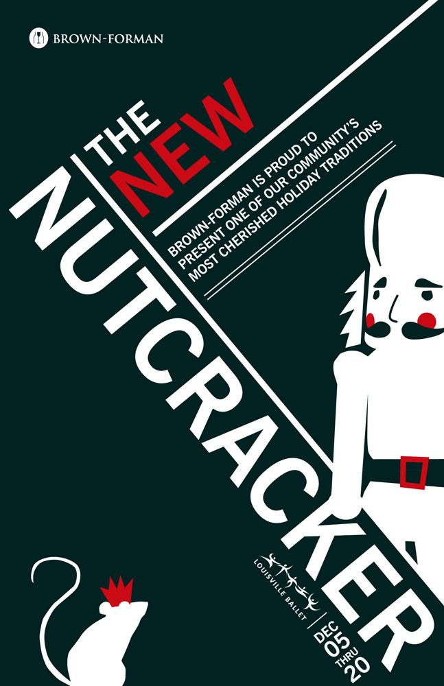 Nutcracker Print Ad Kate Stites