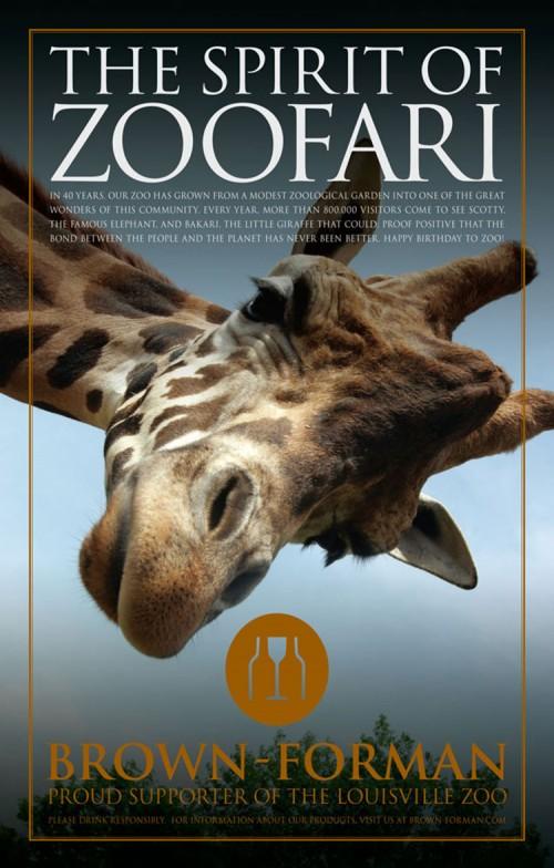 Zoofari! Print Ad
