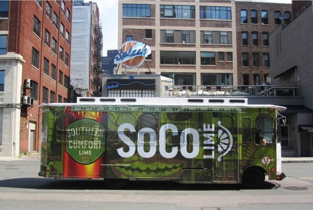 SoCo Lime Trolley Wrap