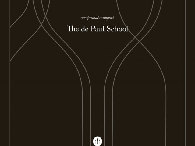 de Paul School Print Ad
