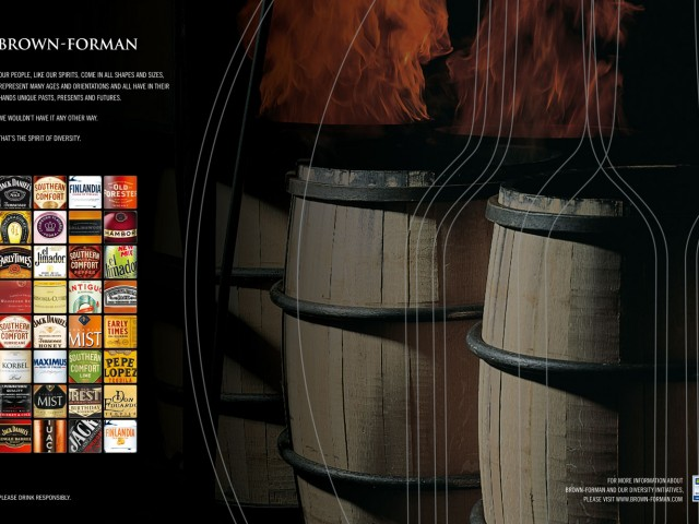Brown-Forman Diversity Print Ad