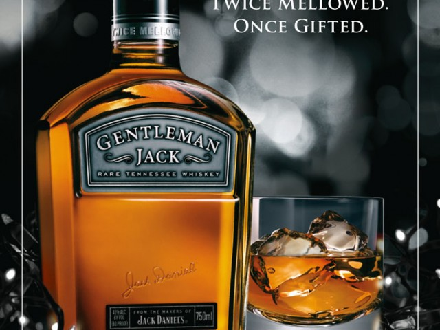 Gentleman Jack Holiday Print Ad