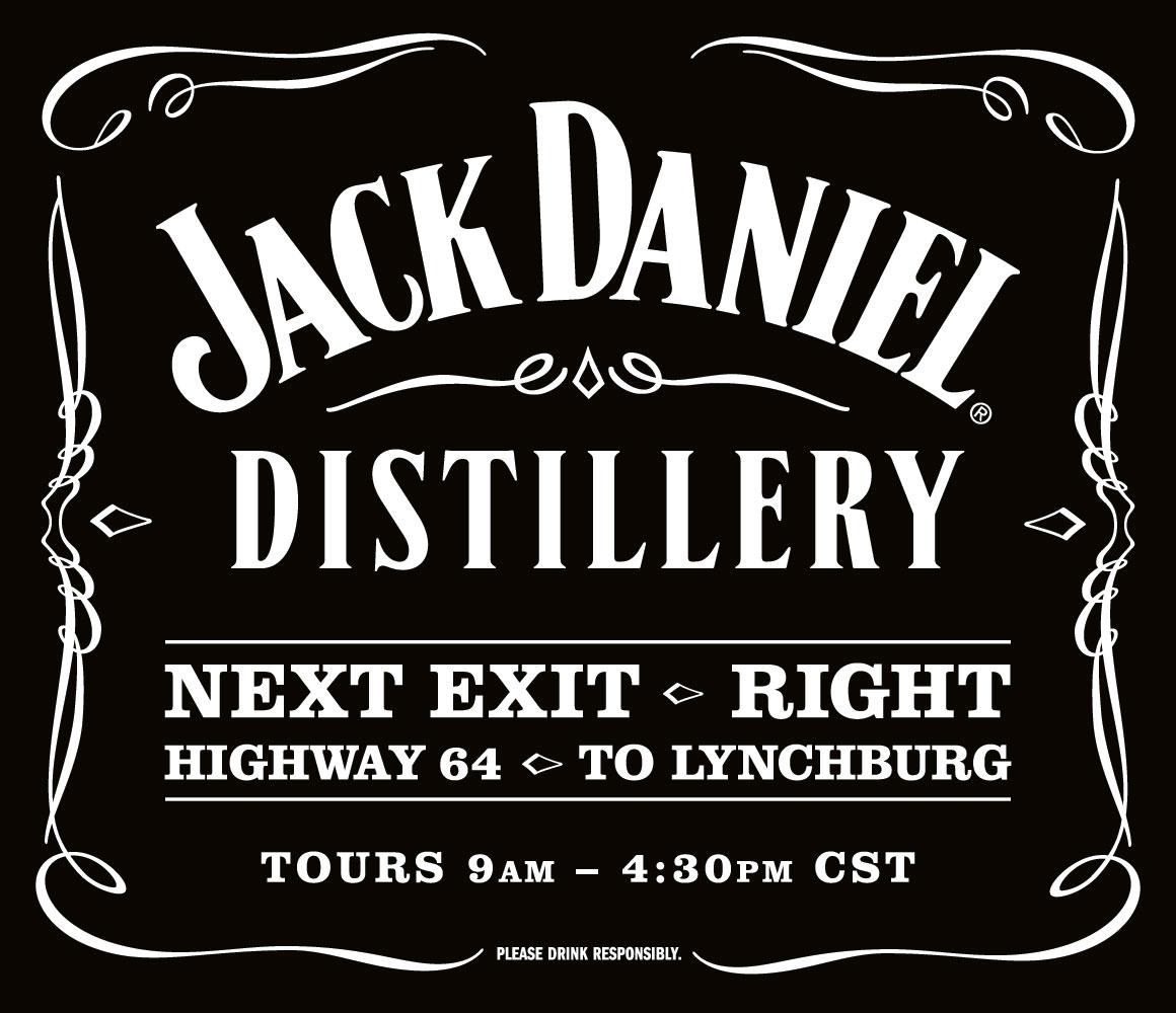 Jack Daniel Distillery Sign Kate Stites