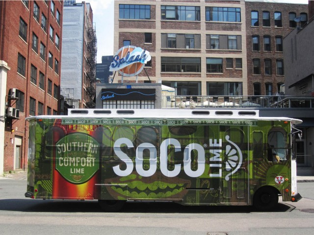 SoCo Lime Trolley Wrap