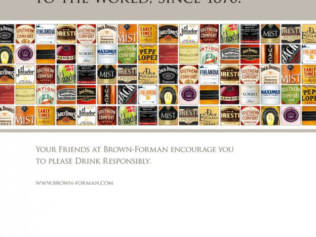 Brown-Forman Trade Ad