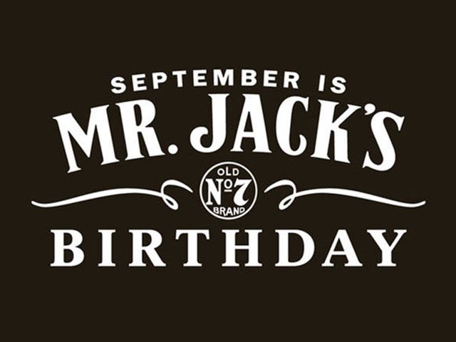 Mr. Jack's Birthday Logo