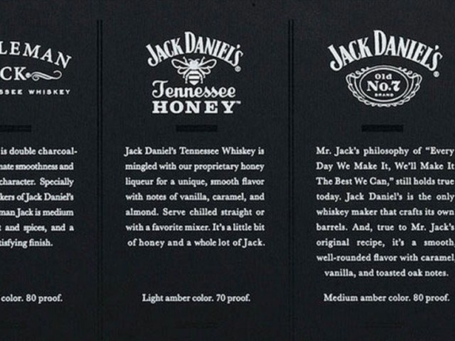 Jack Daniel's Family 50mL Gift Box