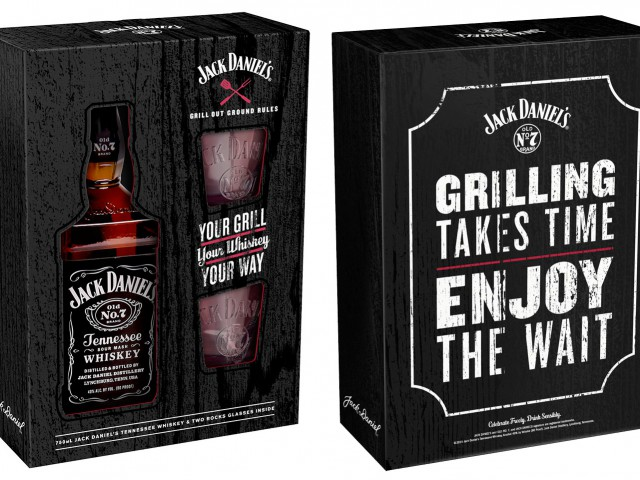 Jack Daniel's Grill Out Gift Box